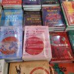 中版集团展区的书籍