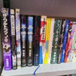 上海外文图书公司展区的书籍